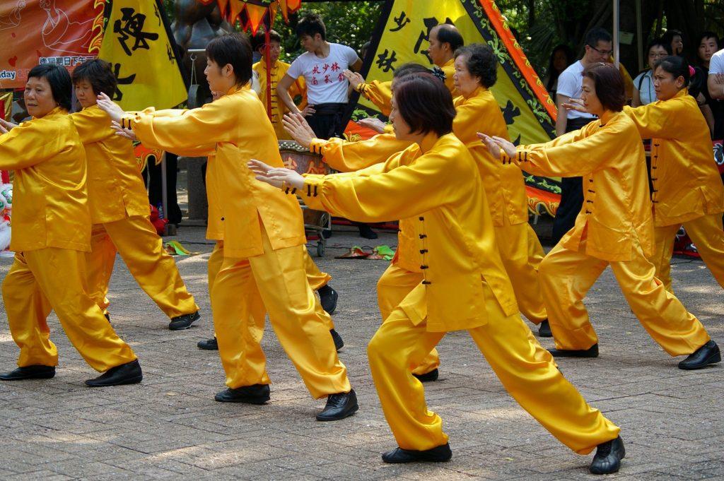 תמונה של תרגול צ'י קונג וטאי צ'י